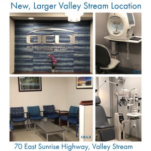 4 images of New, Larger Valley Stream Location